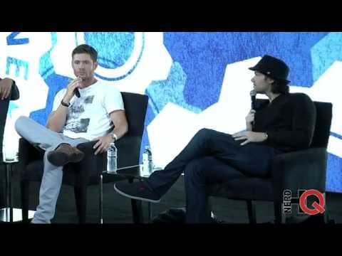 A Conversation with the cast of Supernatural at #NerdHQ 2014