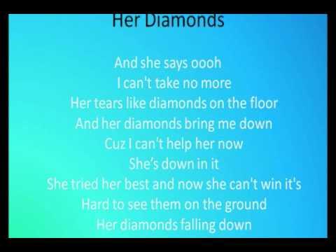 Her Diamonds - Rob Thomas WITH Lyrics