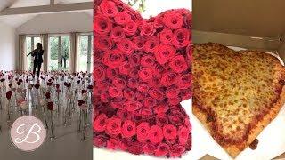 KANYE WEST SURPRISES KIM KARDASHIAN! Valentine's Day 2019