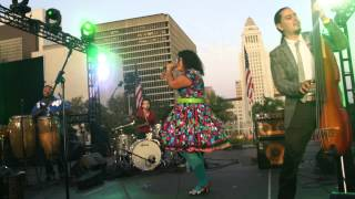 "La Santa Cecilia ""Monedita"" @ Grand Park 4th of July DTLA"