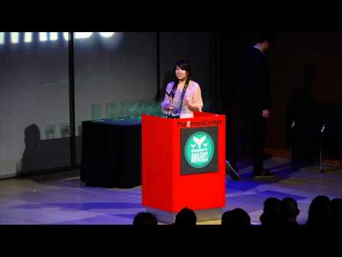 Ann Li (@thisisAnnLi) Accepts the #Fashion Shorty Award