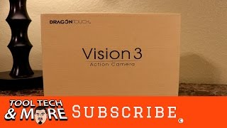 Dragon Touch Vision 3 4K WiFi Action Camera