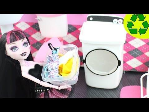 Manualidades: Haz una lavadora / secadora para tu muñeca - EP 737