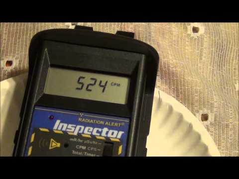 Scottsboro, Al. Radon Progeny Rain-Out Jan,14 2013 Community Radiation Monitoring.wmv