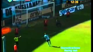 Racing Club 2 - Independiente 0 Torneo Inicial 2012