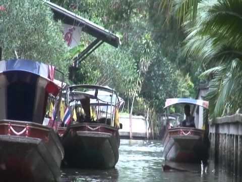 The Floating Market of Bangkok………