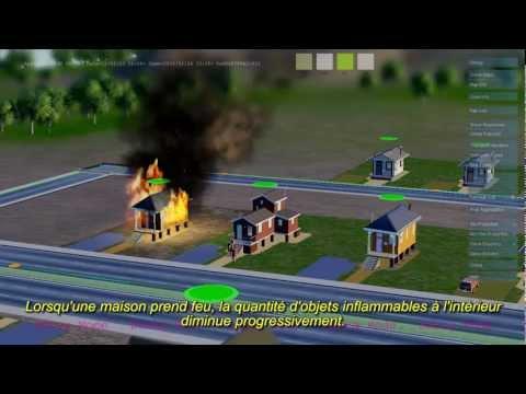 SimCity : présentation du moteur GLASSBOX - Partie 4 : Le feu