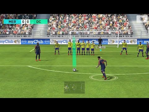 Pes 2018 Pro Evolution Soccer Android Gameplay #2