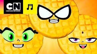 ¡Wafles!   Los Jóvenes Titanes en Acción   CN Tunes   Cartoon Network