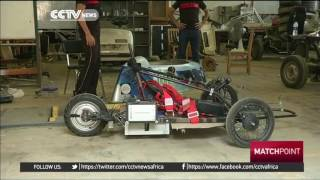Egyptian students design car that runs on electricity and gas