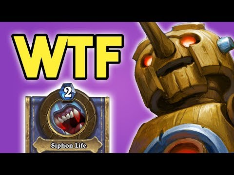 The WORST COMBO Deck EVER w/ Clockwork Automaton! | OP HERO POWER | The Witchwood | Hearthstone