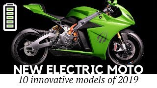 Top 10 Electric Motorcycles Presented with Updated Technology and Better Prices for 2020