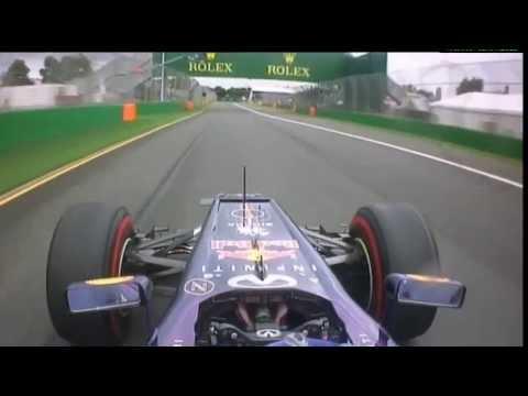 F1 2013 Melbourne Q3 - S Vettel Pole Lap 1:27.407