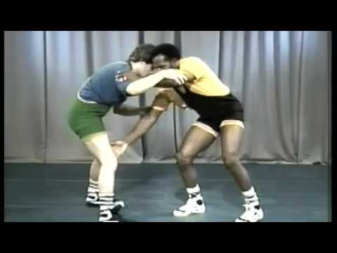 Wrestling Instruction : Attack Drills by, Carl Adams Image 1