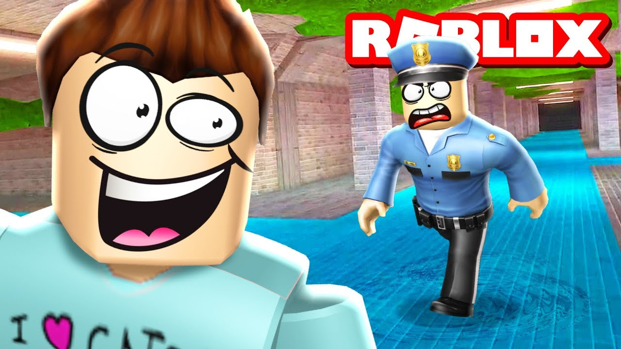 NEW SEWER ESCAPE UPDATE IN ROBLOX JAILBREAK