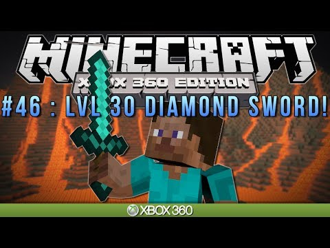 Minecraft Xbox | lvl 30 Diamond Sword | Survival #46 video