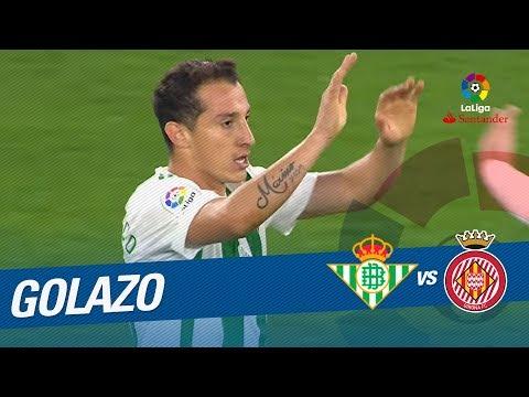 Golazo de Guardado (1-1) Real Betis vs Girona FC
