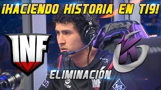 INFAMOUS VS. KEEN GAMING [Bo1] - Making history in The International 20109 Dota 2