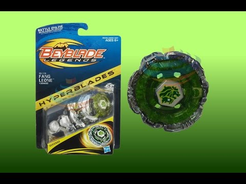 Beyblade Legends Hyperblades BB-106 Fang Leone 130W2D Review Unboxing Giveaway Exp Nov 2nd 2014