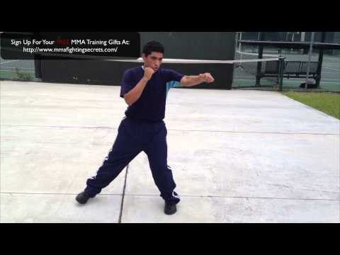 Easy Boxing Drill For MMA: Boxing Drills For MMA: Shadow Boxing For MMA Image 1