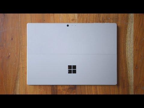 Распаковка Surface Pro (2017)