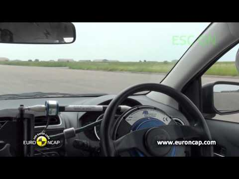 Euro NCAP | Mitsubishi Space Star / Mirage | 2013 | Краш-тест
