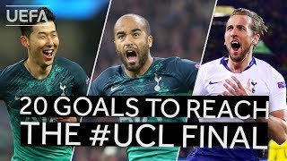 SON, MOURA, KANE: All TOTTENHAM goals to reach the UCL final!