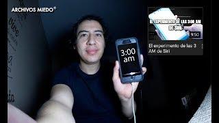 HAGO EL RETO de DROSS, EL EXPERIMENTO de LAS 3 AM de SIRI