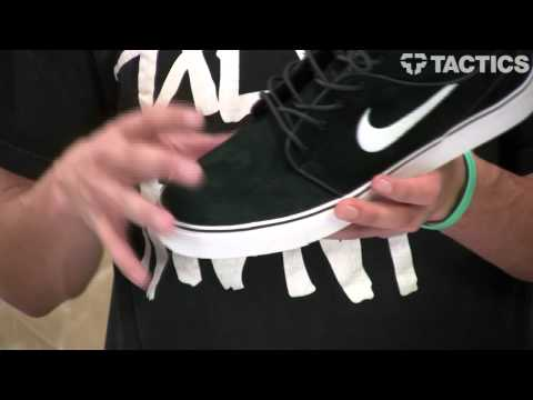 Nike SB Zoom Stefan Janoski Mid SB Skate Shoes Review - Tactics.com