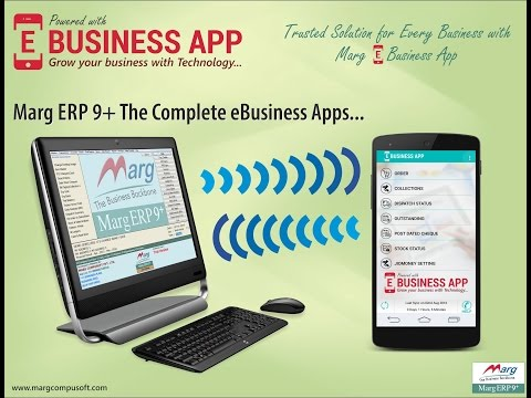 """e-Business Application Introduction """"Marg Software"""" [English]"""