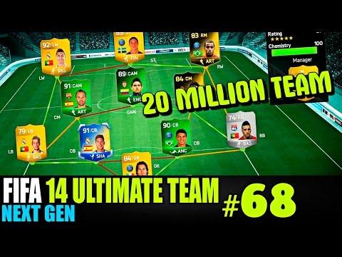FIFA 14 NEXT GEN | ULTIMATE TEAM | #68 [ 20 MILLION TEAM ! ]