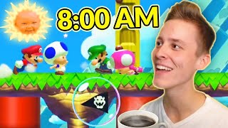 You Won't Believe That I Played Mario Maker 2 Multiplayer... in the MORNING!?!