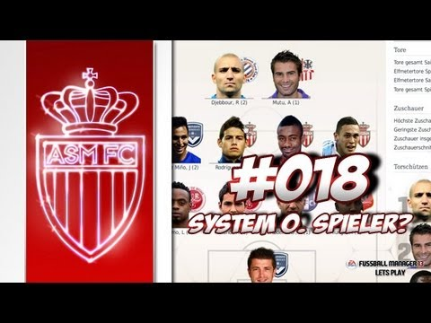 AS MONACO - Fussball Manager 13 Lets Play #018 - System versus Spieler | ᴴᴰ