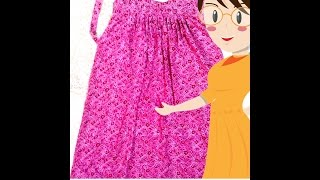 Simple Nighty Cutting And Stitching - Tailoring With Usha
