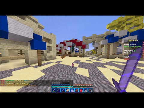 Minecraft: Blitz Survival Games - Full Diamond! (Hypixel.net)
