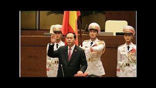 Những người được Chủ tịch nước Trần Đại Quang thăng hàm tướng