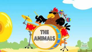 The Animals On The Farm   Learn Animal Sounds