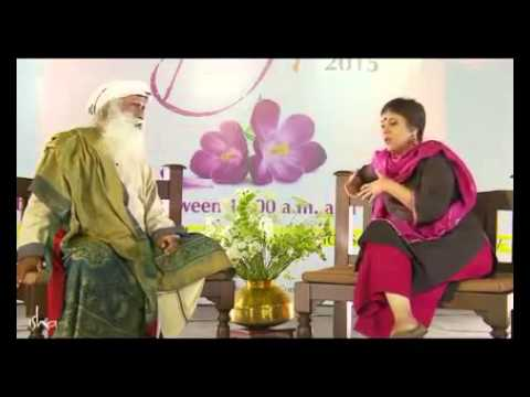 Sadhguru Stumps Barkha Dutt on Beef Ban and she is left with No Answer-Full Video