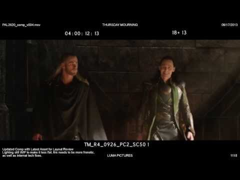 Marvel's Thor: The Dark World - Deleted Scene 1 - Loki as Captain America