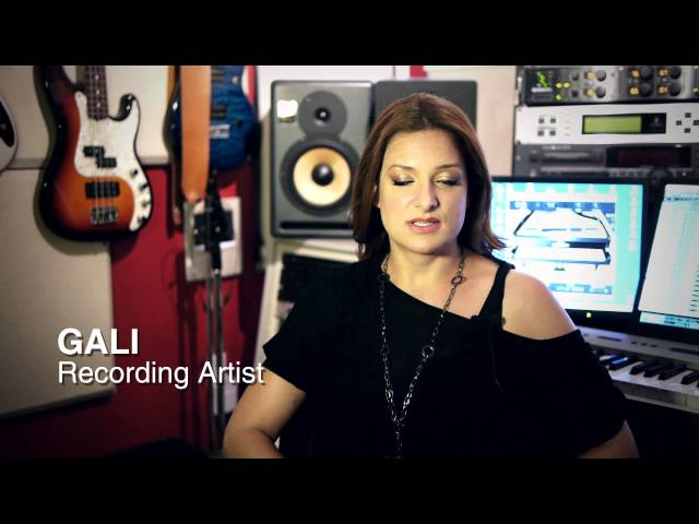 GALI-I&#039;M ALIVE-IN THE STUDIO