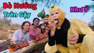 Thịt Bò Nướng Trên Gậy Như Ý Lần Đầu Xuất Hiện Tại Việt Nam - Cười Thối Ruột Với Ngộ Không TV