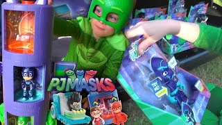 PJ Masks Transforming Toy Hunt - Luna Girl Tank Steals The Toys