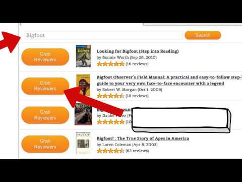Get More Amazon Reviews - AMC Reviewer Grabber Tool
