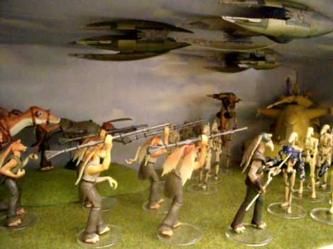Star Wars Figures 2011. Custom Diorama Star Wars