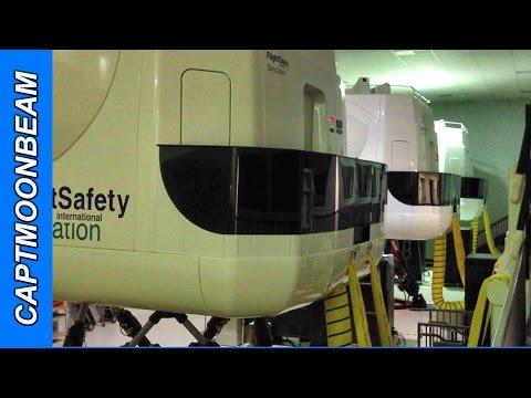 Cessna Citation Mustang Full Motion Simulator FlightSafety International