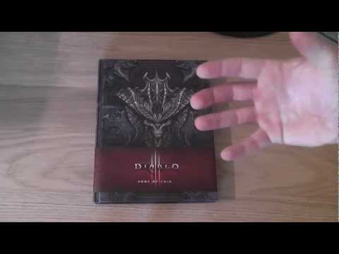 Game Lock Unboxing - Diablo 3 Book of Cain 