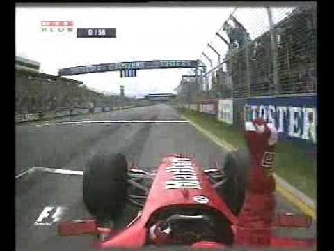 Formula 1 Melbourne 2004 - Schumi oktat