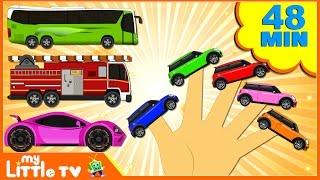 Cars Finger Family | Finger Family Song | Learn Vehicles | Rhymes for Kids