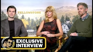 Wes Bentley, Kelly Reilly & Dave Annabelle YELLOWSTONE Interview! (JoBlo.com Exclusive_