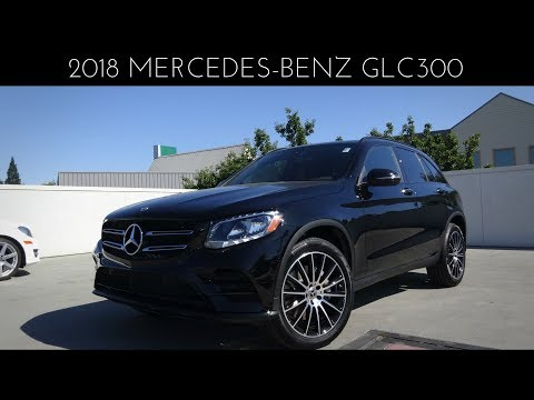 2018 Mercedes-Benz GLC300 2.0 L Turbocharged 4-Cylinder Review